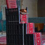 Minbar (Gebetskanzel) der Jame-Moschee
