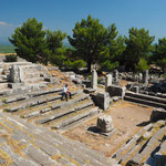Priene - Bouleuterion (heilige Halle des Stadtrates)