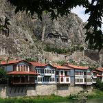 Pontische Felsengräber über Amasya