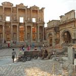 Ephesos - Fassade der Bibliothek