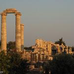 Ruinen von Didyma im Abendlicht