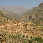 Zagros-Hochgebirge Richtung Shiraz