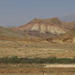 Weites Land auf dem Weg nach Qazvin