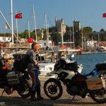 Bodrum - am Hafen