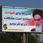Mullahs Sprüche sind überall...