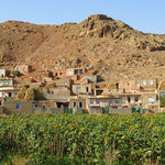 Dorf im Flusstal des Zamur Chay