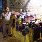 Straßenhändler in Urmia