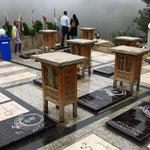 Friedhof des Bergdorfes Masuleh