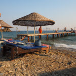 Einfach und bescheiden - der Strand von Maziköy