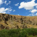 Die Berge der Aras Güneyi Daglari
