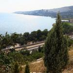 Marmarameer-Küste hinter Istanbul