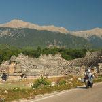 Kleines Theater des antiken Tlos