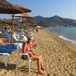Ein Strand wie g'schleckt...