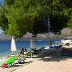 """Kleiner, aber feiner Strand auf dem """"Nautilos"""""""