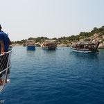 Bootstrip in die Inselwelt Kekovas