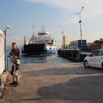 Fähre über die Dardanellen in Geliboulu