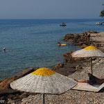 Strandleben in der Gökova-Bucht