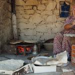 Straßenbäckerei in Davutlar