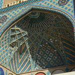 Innenkuppel im Eingangsportal der Meydan-e Mir Chaqmaq – Moschee