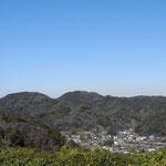三井修 「二子山遠景 冬2」 2015年01月18日撮影