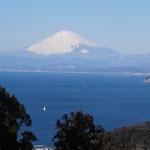 関口恭平 「戸根山からの富士山」2015年02月14日撮影