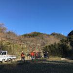 12月31日 小菅純撮影 イノシシ捕獲 寺前谷戸