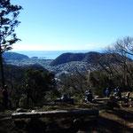 桐山大 「戸根山山頂定例活動①」 2015年01月10日撮影