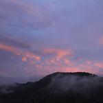 2016年10月17日撮影 三木愛子 「葉桜からの夕景」