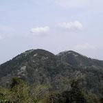 2016年4月9日撮影 三井修 「西から見た二子山」(1)