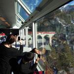 Fahrt mit der Albulabahn