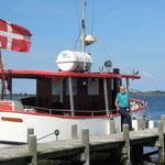 Mit dem Postschiff auf dem Nakskov Fjord