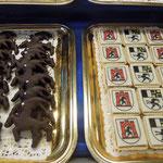 Graubündner Backspezialitäten, gesehen in Chur