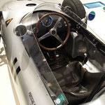 Porsche-Rennwagen im Prototyp Automuseum.