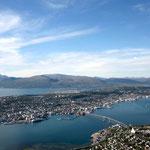 Blick auf Tromsø.