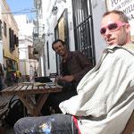 """Abdelatif Moustad y Raul """" El sound system hombre"""""""