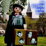 Mit Luther auf die Bretter