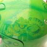 Motorradhelm Skulls