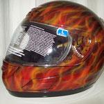 Motorradhelm Real Fire