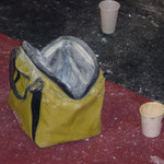 Chalktasche sucht Boulderer
