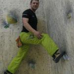 Lars arbeitet weiter an seiner Rekonvaleszenz (Boulderlounge Chemnitz)