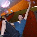 Meister Georg, technisch und akrobatisch in der schönen gelben Route