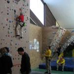 Kletterhalle im Sportpark Untreusee - Hof