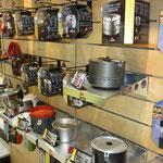 die edle Küchenausstattung von MSR, eine Zier für jede Outdoorküche