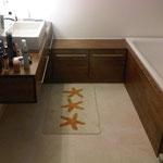 Badezimmermöbel Eiche massiv Rustikal