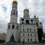 """Glockenturm """"Ivan der Grosse"""", mit Zarenglocke (beim Transport zur Kirche kaputt gegangen)"""