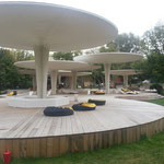 Pavillon im Gorki-Park