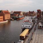 historischer Hafen Danzig