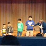 戸倉小学校小学生が被災当日の体験を語る ホテル観洋