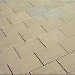 gesägte Bodenplatten
