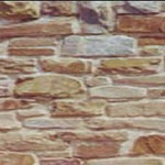 Trockenmauer (Verlegung in Mörtel), Höhe: 6-25 cm - Einband: 15-35 cm